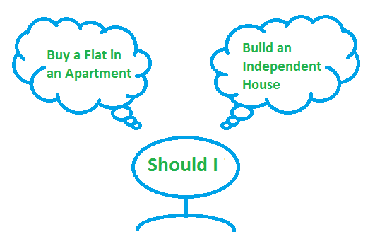 Buy Flat or Build Home?